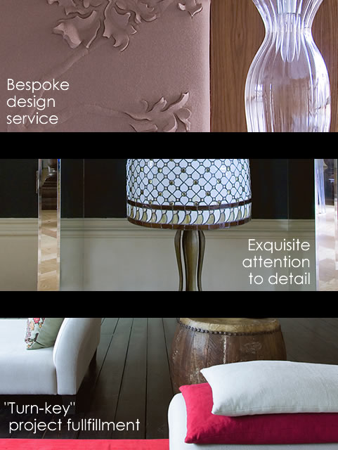 Bespoke design service | Exquisite attention to detail | Turn-key project fulfillment